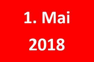 1. Mai 2018